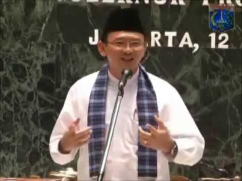 Basuki TP (Ahok) : Saya belum dapat HIDAYAH