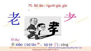 Baixar Tiếng Trung 518 - Các bộ thủ thông dụng nhất trong tiếng Hán ( tập 5 )