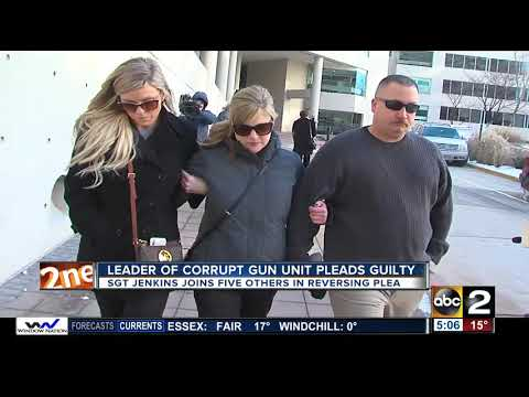 Supervisor of Gun Trace Task Force pleads guilty