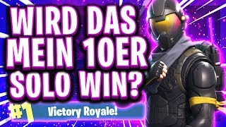 😂🔥10. SOLO SIEG?! | Movement❌ Sniper✅ | Road to Pro! | Fortnite Deutsch