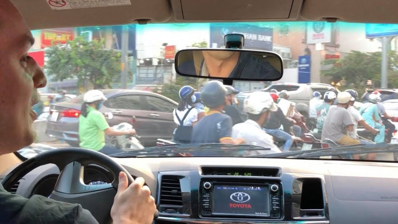 Here's Why Driving in Vietnam is Totally Terrifying... ROAD RAGE!