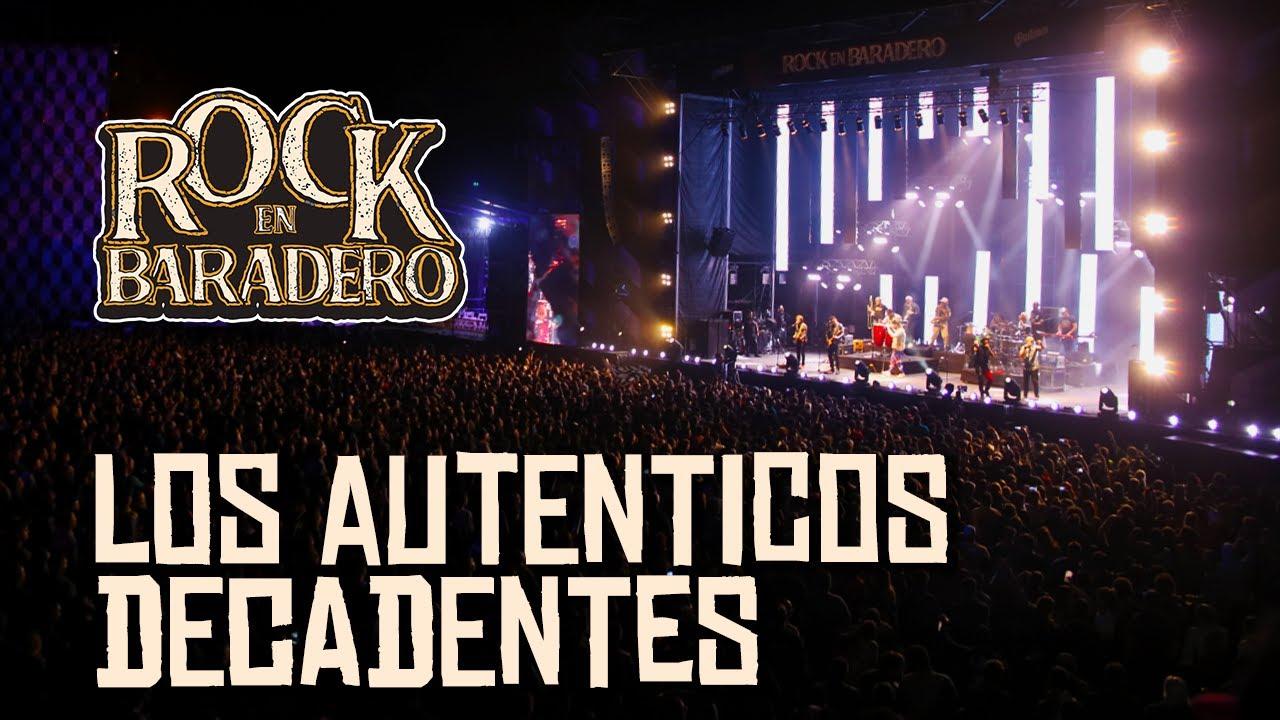 Los Auténticos Decadentes | Rock en Baradero 2020 (concierto completo)