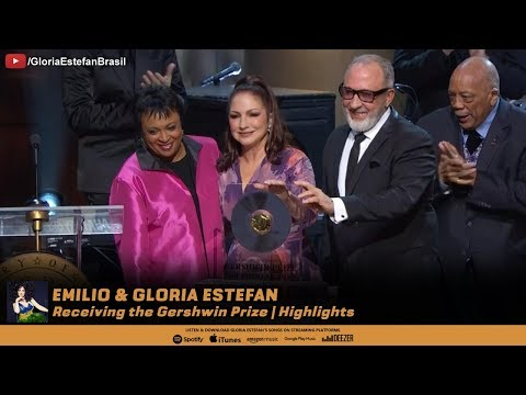 Emilio & Gloria Estefan receiving the Gershwin Prize | Highlights Mp3