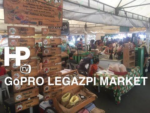 GoPro Legazpi Sunday Market 2016 Walking Tour Overview Legazpi Village Makati by HourPhilippines.com