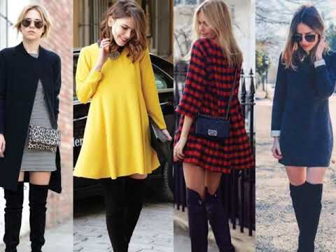 Outfits Con Botas Largas Ideas Para Combinar