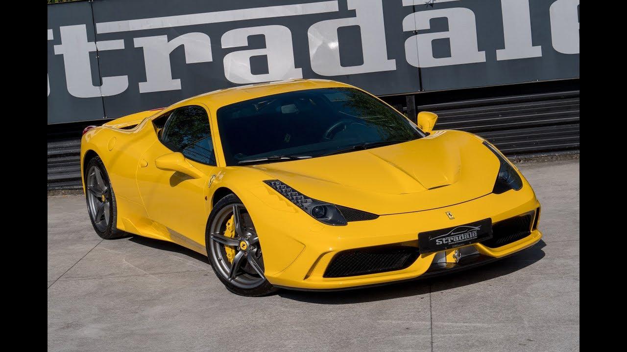 Ferrari 458 SPECIALE / STRADALE MOTORS / [ HD]