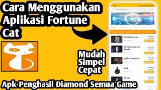 Cara Menggunakan Aplikasi Fortune Cat _ Apk Penghasil Diamond Semua Jenis Game screenshot 5