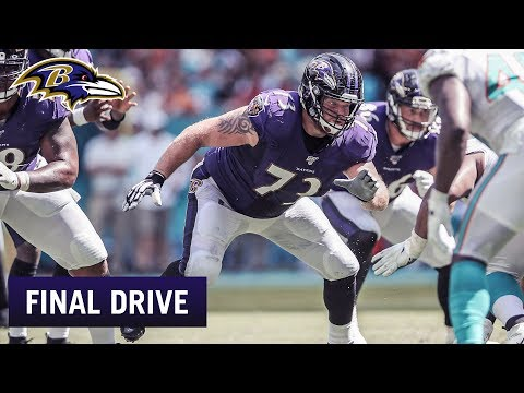 Give The O-Line Their Credit | Ravens Final Drive