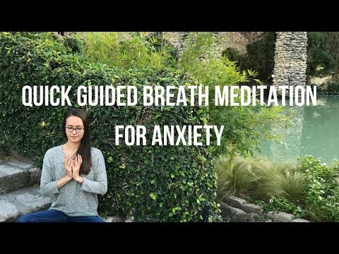 Quick Breath Meditation Reset for Anxiety