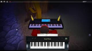 Slow Dancing in the Dark by: Joji on a ROBLOX piano.