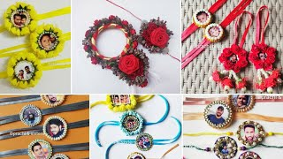 50 plus handmade photo and floral rakhi designs //happy rakhshyabandhan //handmade rakhi compilation