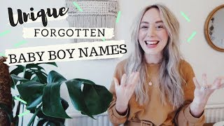 Unique, Forgotten Vintage Baby Boy Names that are so Handsome | SJ STRUM