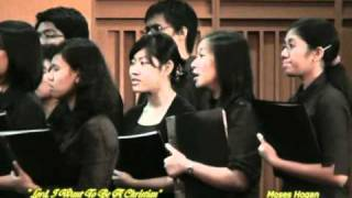 UPH Choir - Lord I Want To Be A Christian - Melissa Christina Senior Recital