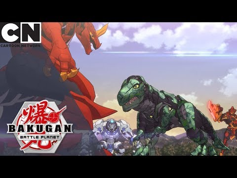 Bakugan: Battle Planet | Everybody vs. Trox | Cartoon Network UK