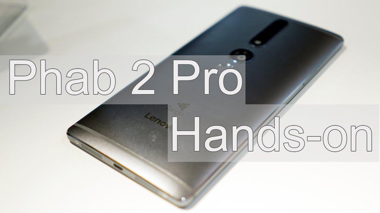 Phab 2 Pro Hands-on!