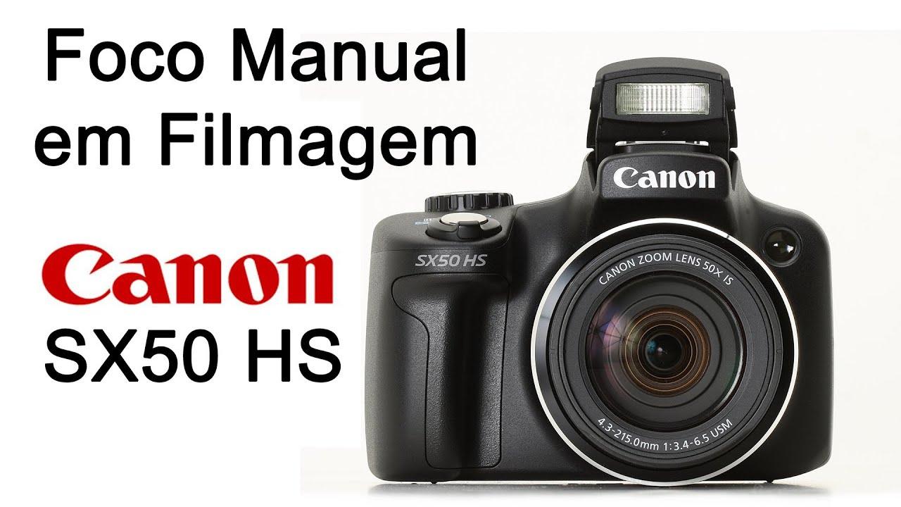 foco manual em filmagem com a sx50hs youtube rh youtube com