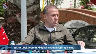 🎥🎙️ Teknik Direktörümüz Abdullah Avcı'nın Basın Toplantısı