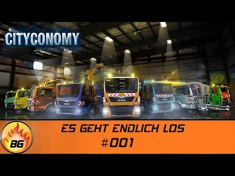 CITYCONOMY: Service for your City #001   ES GEHT ENDLICH LOS   Let's Play [HD]  
