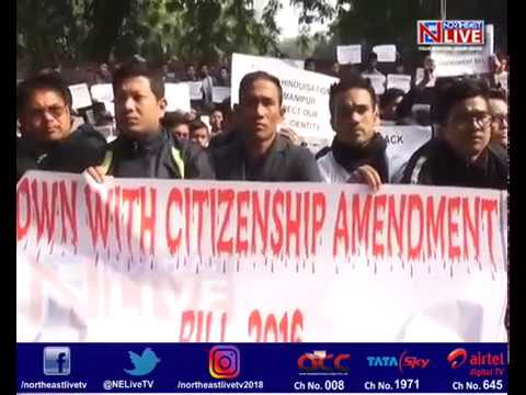 Manipur student groups take Citizenship Bill protests to the streets of Delhi