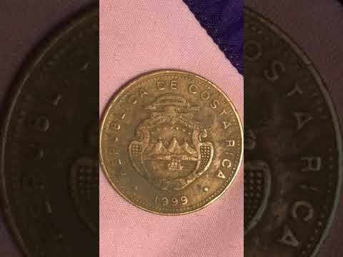 Republica D E Costa Rica 1999 100 Colones BCCR Coin