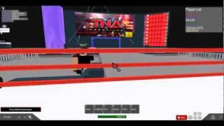 TNA Wrestling Roblox Style: Alex Shelly vs Robort Storms