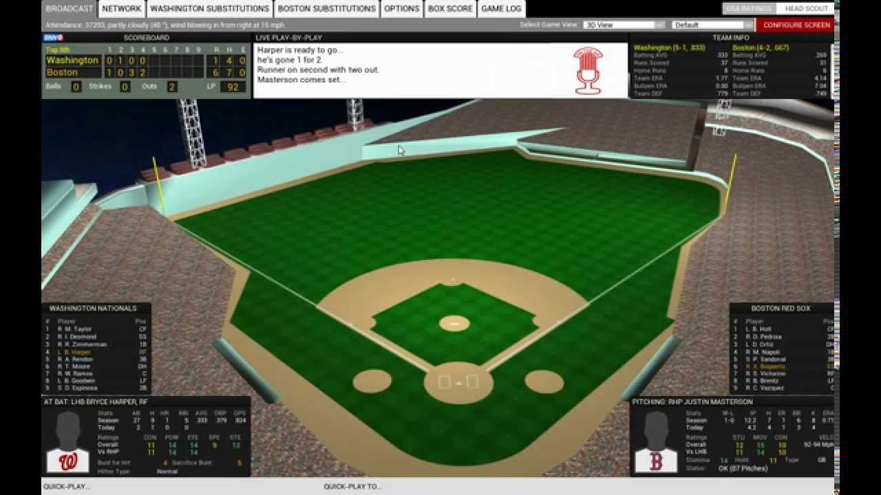 Out of the Park Baseball 16 Gameplay Review - YouTube