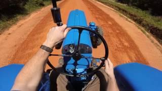 Blue Porsche Super diesel tractor