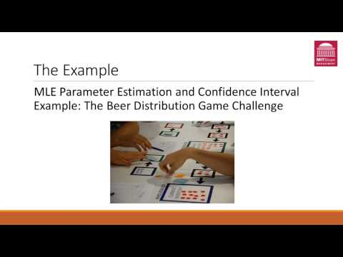 Maximum Likelihood Estimation and Confidence Intervals