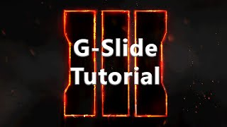 Call of Duty Black Ops 3 - Tutorial wie funktioniert der G-Slide  [deutsch]