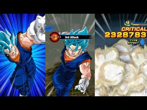 FIRST LOOK AT LR VEGITO BLUE 18 Ki SUPER ATTACK! Dragon Ball Z Dokkan Battle