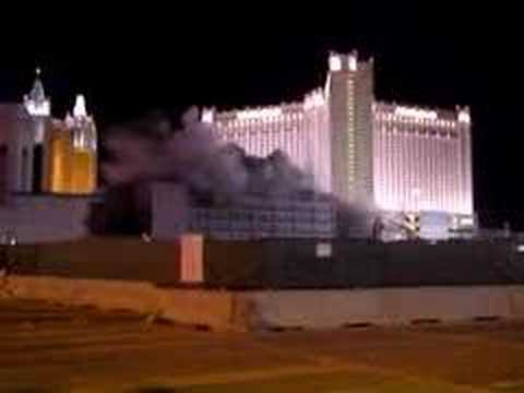 Boardwalk Casino Implosion, Las Vegas Nevada.