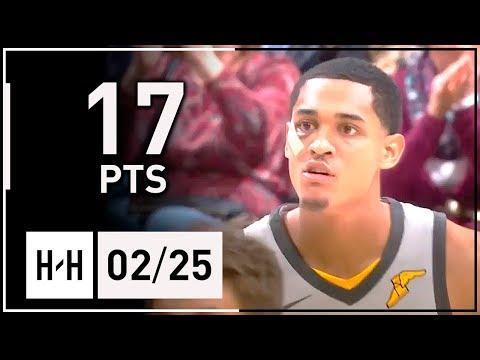 Jordan Clarkson Full Highlights Cavaliers vs Spurs (2018.02.25) - 17 Points!