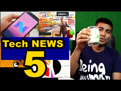 Tech News 5: Nougat Update, Apple iCloud Activation, Ubermoto, Dropbox revenue,Digital Ads