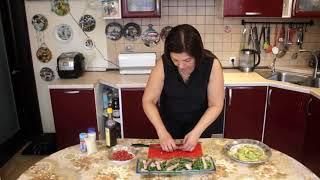 Салат руккола с мясом🥗🥩