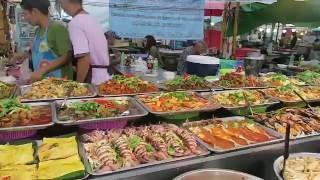 Thailand Street Food - Fresh Fish Markets Pattaya