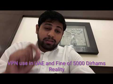 VPN in UAE - Dh5000 fine message Reality
