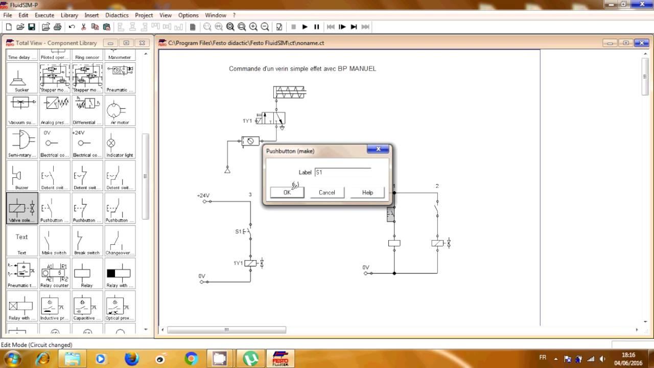 logiciel fluidsim pneumatique