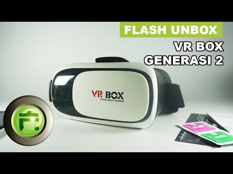 Virtual Reality Generasi 2 - Unboxing & Overview Indonesia - Flash Gadget Store
