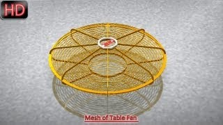 Mesh Of Table Fan (video Tutorial) Autodesk Inventor