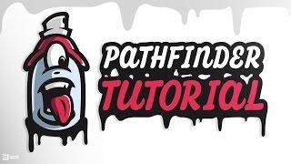 Adobe Illustrator Tutorial | Pathfinder Tool | SpeedArt