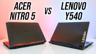 Acer Nitro 5 vs Lenovo Y540 - 2019 Gaming Laptop Comparison