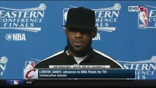 LeBron James postgame press conference | Cavs-Celtics Game 5 | NBA Playoffs