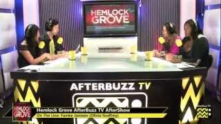 "Hemlock Grove After Show w/ Famke Janssen Season1 Episode 7 ""Measure of Disorder "" 