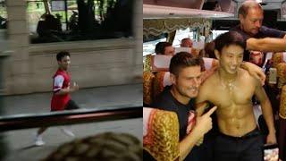 The Running Man - Arsenal Tour 2013