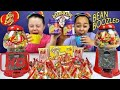 Bad Baby Bean Boozled Challenge! Warheads Extreme Sour Jelly Beans - Jelly Belly Candy Dispenser