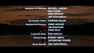 007 Contra Octopussy (1983) - Créditos Finais - Octopussy (1983) - End Credits
