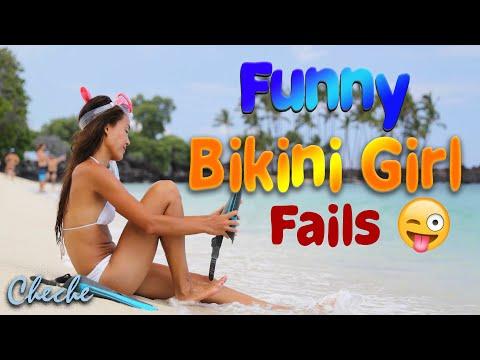 Bikini Girl Fails Try Not To Laugh | Funny BIKINI GIRL FAILS video Compilation