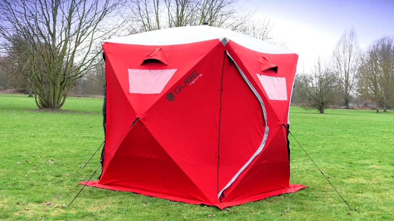 Qube Tent - Connect Anytime Anywhere with the Quick Pitching Connectable Tent : quick tents to put up - memphite.com