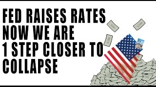 Fed Raises Rates to Cause a MAJOR CRASH in the U.S! This is Why.