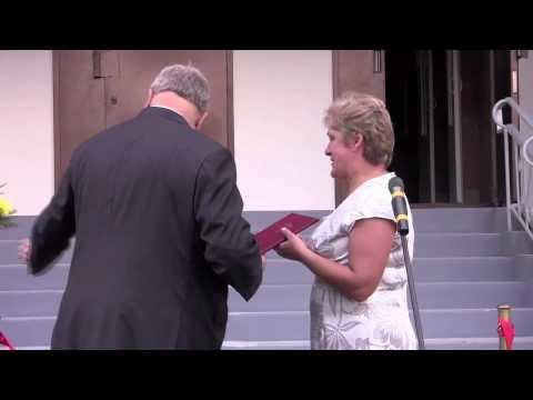 Церемония вручения ключей от квартир